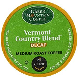 Green Mountain Coffee, Vermont Country Blend Decaf Medium Roast K-Cup Portion Pack for Keurig Brewers (Pack of 50), Garden, Haus, Garten, Rasen, Wartung