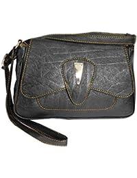 Adiari Fashion Black Colored Traditional Handbag for women