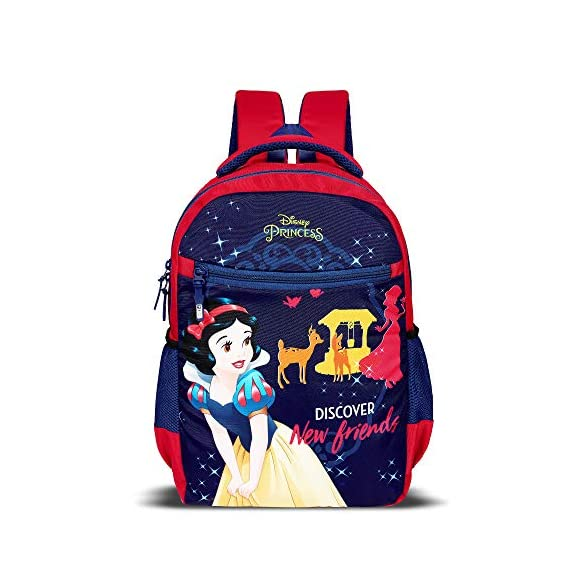 Priority Snow White Pink Casual Backpack|Kid's School Bag