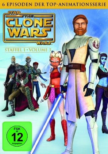 Star Wars: The Clone Wars - Staffel 1, Vol. 3 (Wars Dvd Staffel Star 1)