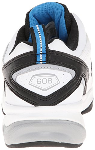 New Balance Men's MX608V4 Training Shoe White/Royal