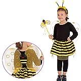 LCN Costume Fee Abeille Enfant 3 à 6 ans - Deguisement Anniversaire Fete -  789 6d2adedd0173