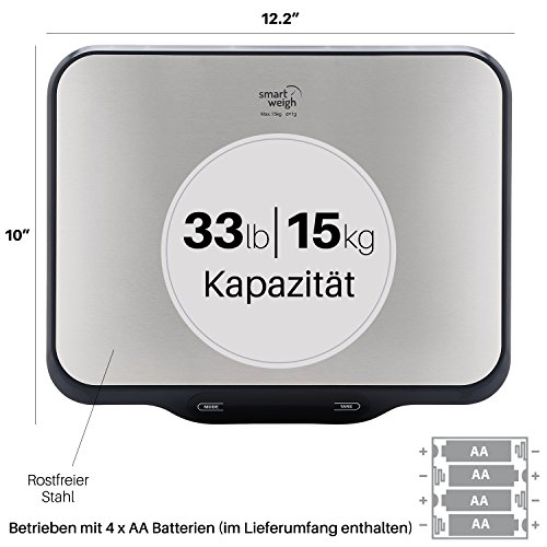 Smart Weigh Digitale Kuchenwaage Digitalwaage Preisvergleich Bei