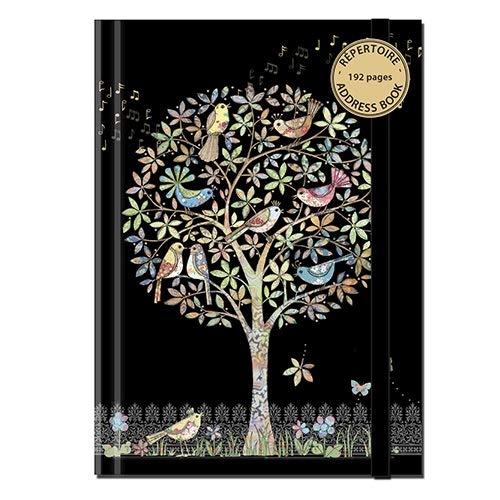 Kiub Verzeichnis A6 192 Seiten Bug Art Baum Vögel Musik