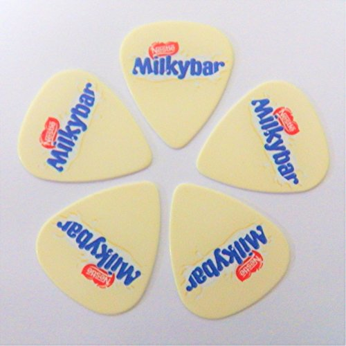 milky-bar-nestle-chocolate-bar-food-printed-plectrum-guitar-picks-set-of-5