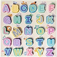 Alphabet wooden Puzzle board English Letters