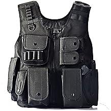 Yakeda® I fan delle forze dell'ordine tattico SWAT Vest dell'esercito all'aperto Vest Cs gioco Vest, cs Campo Vest Cosplay di Counter Strike Game-E88017