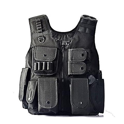 YAKEDA® Les fans application de la loi tactique SWAT armée