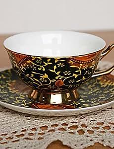 Ficus Elastica tazza di caffšš, porcellana 7 oz