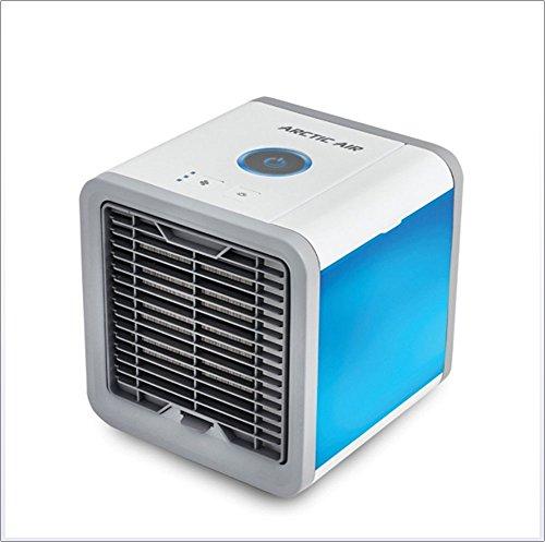 Preisvergleich Produktbild LQY TG Portable Mini Cooler Persönlicher Raum Luftkühler - 3-in-1 Luftbefeuchter Luftreiniger 18 * 18 * 20Cm