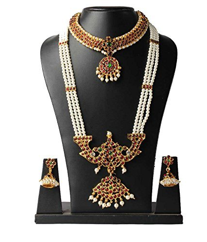 FashionAtelier Beautiful Designer Gold Plated Necklace Set