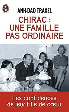 Chirac Livre - Chirac : une famille pas