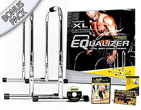 Lebert Fitness Equalizer Frank Medrano Signature Serie Chrom XL Bonus Pack (Wert Club Series)