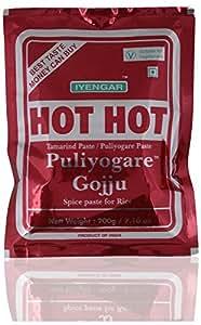Iyengar Hot Hot Puliyogare Gojju 200 g