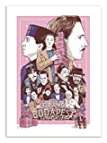 Art-Poster The Grand Budapest Hotel Joshua Budich