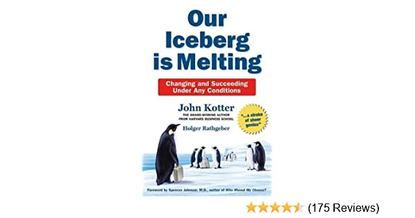 iceberg is melting summary
