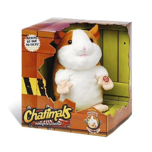 Imagen principal de Chatimal - surtido - Giro Peluche Hamster Con Voz Repite Lo Que Dices (Dragon-I) PL61755 - Surtido: diferentes colores o personajes