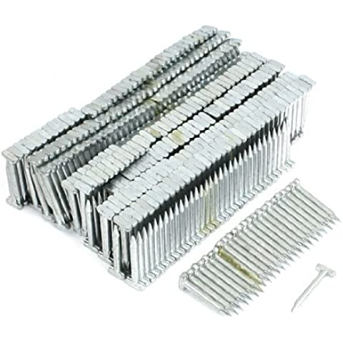 Water & Wood 720 Pcs Silver Tone Steel T18 18mm Length Decorative Brad Nails