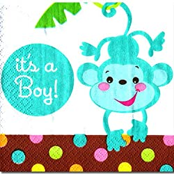 Fisher Price Baby It 'S A Boy Bevrge Napk 2pack