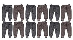Krystle Kids Thermal Pajama PO12 (KRY-KIDS-WOOL-PAJAMI-PO12-1-2_Multicolour_1-2 Years)