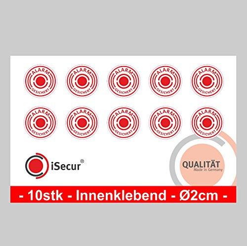 10-stuck-aufkleber-alarm-isecurr-alarmgesichert-durchmesser-20mm-art-hin-004-20mm-innen-hinweis-auf-