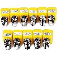 11pcs ER16 Ressort Collet Set CNC pince serrage de Gravure & Fraisage Tour Haute précison