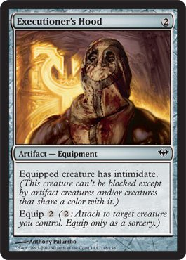 Magic: the Gathering - Executioner's Hood - Cappuccio del Carnefice - Dark Ascension