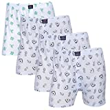 Feed Up Men's Cotton Hosiery Boxers Pack...