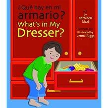 Que hay en mi armario?/What's in My Dresser?