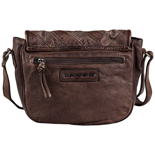 TaschendiebTD0724 - Borse a Tracolla Donna schokolade, braun