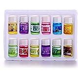 HUYURI 12 3ML/Box Pure Aromatherapy Essential Oil Skin Care Bath Massage Beauty