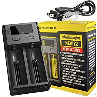 ADAALEN Nitecore Intellicharger NEW i2 Charger For Li-ion/IMR/LiFePO4/Ni-MH Battery