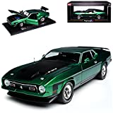 alles-meine GmbH Ford Mustang Mach I 4. Generation Coupe Grün 1970-1973 1/18 Sun Star Modell Auto