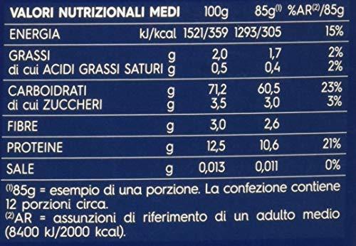 Barilla Pasta Sedani Rigati, Pasta Corta di Semola di Grano Duro, I Classici - 1 kg