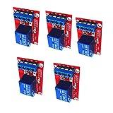 Homyl 5 Pcs Scheda Optoaccoppiatore Interfaccia Relè LED Per Arduino