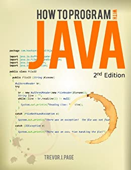 How to Program with Java by [Page, Trevor]