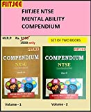 NTSE Mental Ability Test (MAT) Question bank(Compendium) Set of 2 volumes by FIITJEE