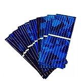 AIYIMA 100Farbe Kristall Solarmodul Solarzelle Solarpanel Solar Akku KFZ-Ladegerät Power Bank für DIY Handy Ladegerät 0,5V 320mA 52x 19mm/2x 3/10,2cm