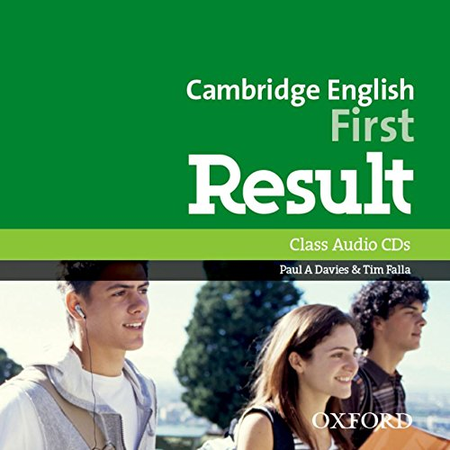 Cambridge English: First Result: Certificate in Advanced. English Result Cl Audio CD Ed 2015 (2) por Paul A. Davies
