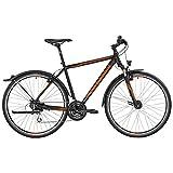 Bergamont Helix 4.0 EQ Herren Cross Trekking Fahrrad schwarz/orange 2017: Größe: 46cm (164-170cm)