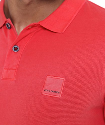 BOSS Orange Herren Poloshirt 10122648 01 Rot