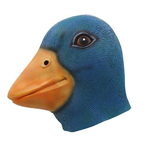 ermaske, Halloween Kostümparty Grüne Entenkopfmaske (Halloween Maske Sammlung)