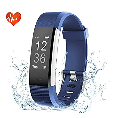 EFOSHM Fitness Tracker Watch with Heart Rate Monitor Sleep Monitoring Sport Pedometer SmartWatch IP67 Waterproof Smart Bracelet for iOS Android Smartphone by EFO-S