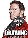 Clip: Drawing Star-Lord & Baby raccoon [OV]