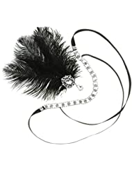 MagiDeal Feder Stirnband 20s Gatsby Party Schmuck