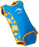 Baby wetsuit - Clown Fish - 0-6 months - BabywarmaTM - neoprene swimsuit opens flat & wraps round your baby