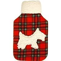 Vagabond 2L Tartan Westie Dog Hot Water Bottle and Cover preisvergleich bei billige-tabletten.eu