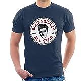 Elvis Presley All Star Converse Logo Men's T-Shirt