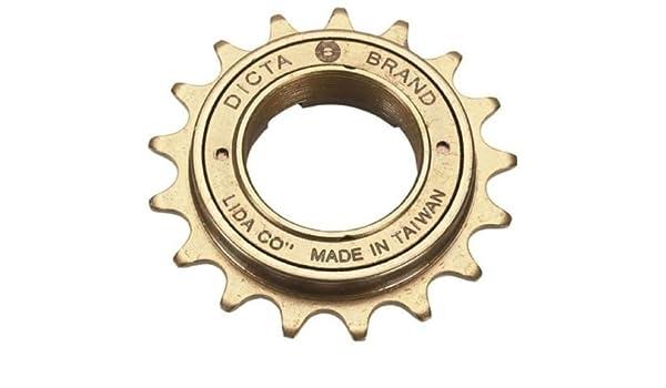 "Dicta A8K 16T 18T Single Speed Freewheel 1//2/"" x 1//8/"" Fixie BMX Bike Sprocket"