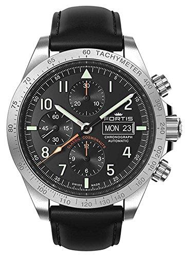 Fortis gents-wristwatch Classic Cosmonauts cronógrafo horas FECHA analógica automático 401.21.11L.10